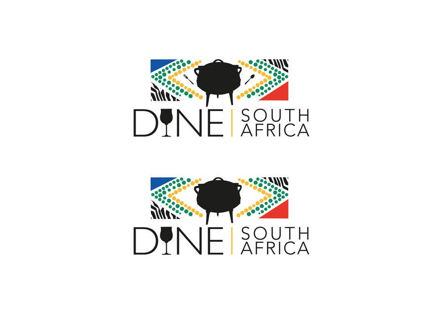 Bài tham dự cuộc thi #                                        74                                      cho                                         Logo Design for DineSouthAfrica.com