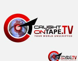 #1290 untuk Design a Logo for Caught On Tape TV oleh stamarazvan007