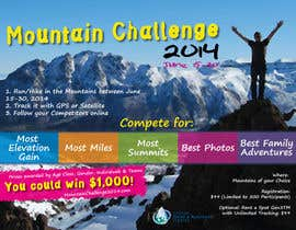 #42 untuk Design a Flyer/Poster for a Mountain Adventure Event oleh amaydualk