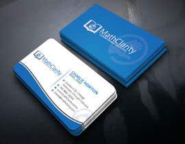 designbdplus tarafından Business Card Design for Tutoring Company için no 116