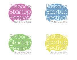 Nro 4 kilpailuun Design a Logo for Startup Festival Brisbane käyttäjältä BobbijoPMH