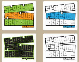 #14 for Design a Logo for Startup Festival Brisbane af zitabanyai