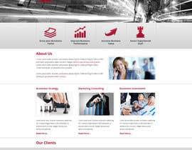 nº 3 pour Projetar a Maquete de um Website for Consulting Company par shabcreation
