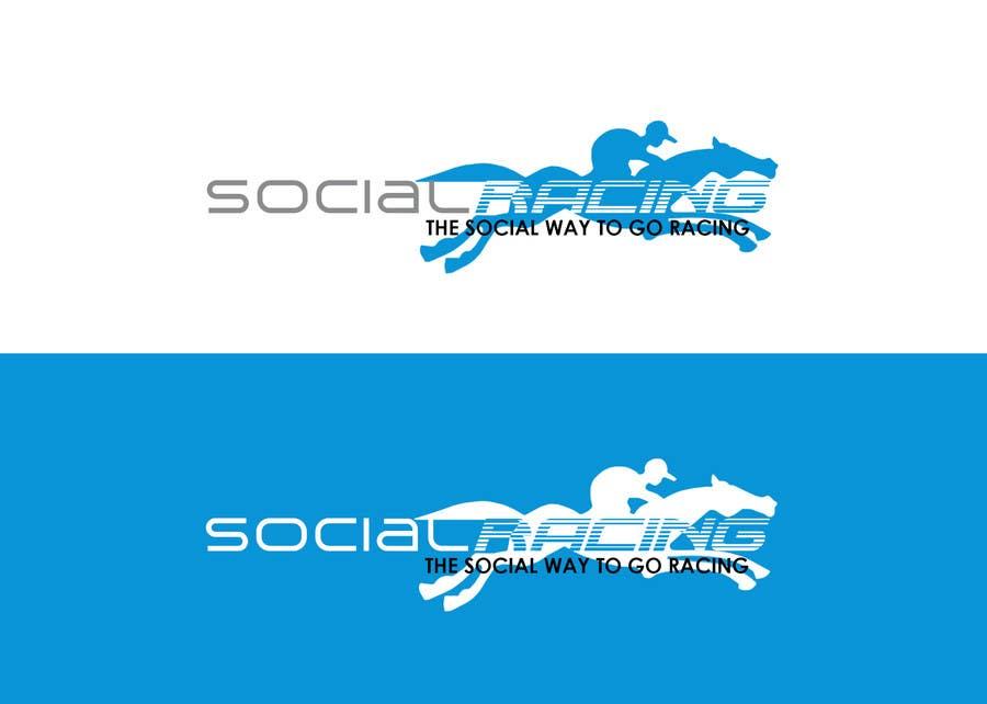 Kilpailutyö #11 kilpailussa Logo Design for Social Racing