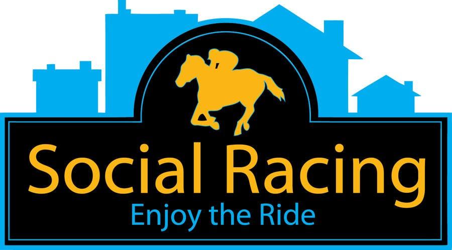 Penyertaan Peraduan #50 untuk Logo Design for Social Racing