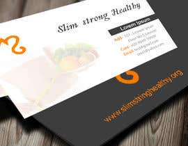 #23 untuk Design some Business Cards for SlimStrongHealthy.org oleh manishb1