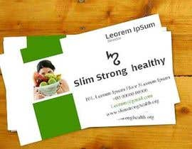 #24 untuk Design some Business Cards for SlimStrongHealthy.org oleh manishb1