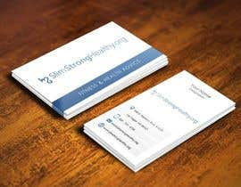 #25 untuk Design some Business Cards for SlimStrongHealthy.org oleh pointlesspixels