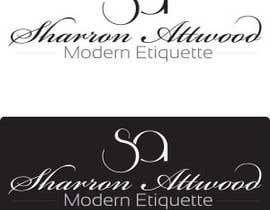 #86 for Design a Logo for Sharron Attwood - Modern Etiquette by anacristina76