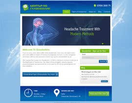 Nro 6 kilpailuun Design a Website Mockup for а Headache Center - Improve Current Design käyttäjältä atularora