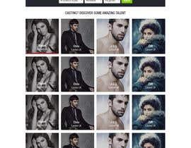 sandiplive tarafından Design a Fashion Website Mockup için no 7