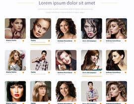 mahiweb123 tarafından Design a Fashion Website Mockup için no 12