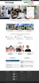 Nro 4 kilpailuun Design a Website Mockup for Fensitup käyttäjältä zicmedia