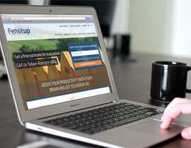 Nro 22 kilpailuun Design a Website Mockup for Fensitup käyttäjältä freeoutsourcer