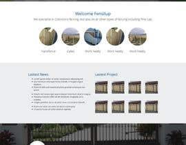 Nro 73 kilpailuun Design a Website Mockup for Fensitup käyttäjältä sanaqila