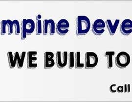 nº 5 pour Design a Banner for 'Elmpine Developments par fjaviercorrea1