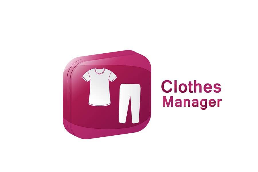 Konkurrenceindlæg #71 for Logo Design for Clothes Manager App