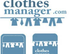 #148 pentru Logo Design for Clothes Manager App de către d2graphicdesign