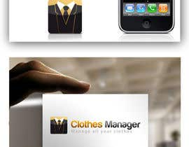 #23 cho Logo Design for Clothes Manager App bởi RobertoValenzi