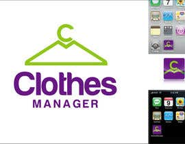#176 cho Logo Design for Clothes Manager App bởi DesignPRO72