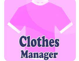 #180 cho Logo Design for Clothes Manager App bởi majidsheikh
