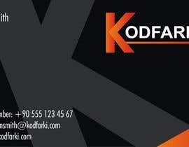#10 cho Design some Business Cards for KODFARKI bởi balajirakesh70