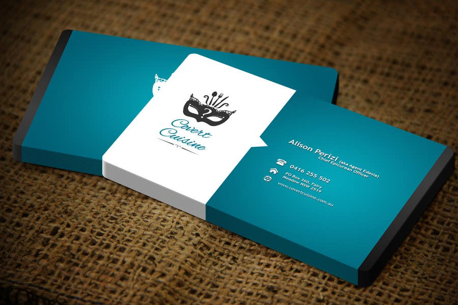 Konkurrenceindlæg #49 for Design some Business Cards for Covert Cuisine