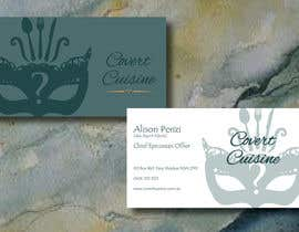 #34 for Design some Business Cards for Covert Cuisine af Sele2