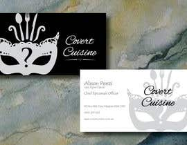 #37 cho Design some Business Cards for Covert Cuisine bởi Sele2