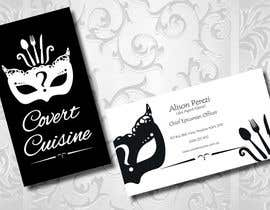 #39 cho Design some Business Cards for Covert Cuisine bởi Sele2