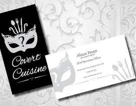 #40 for Design some Business Cards for Covert Cuisine af Sele2