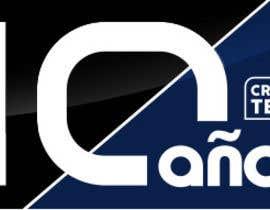 andryod tarafından 10 th  logo anniversary of a college career / logo de aniversario (10 años) için no 8