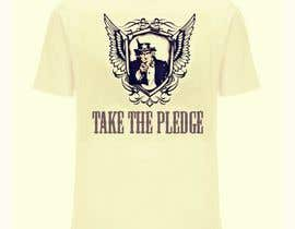 #13 para Design a Take The Pledge T-shirt (Uncle Sam) por plewarikar12