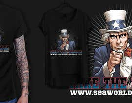 nº 12 pour Design a Take The Pledge T-shirt (Uncle Sam) par richisd