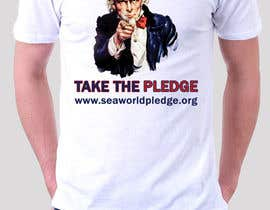 #7 para Design a Take The Pledge T-shirt (Uncle Sam) por adstyling