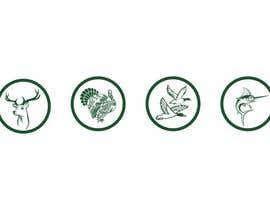 NepDesign tarafından Create 4 Icons. Turkey, Deer, Duck, and Fish. için no 13