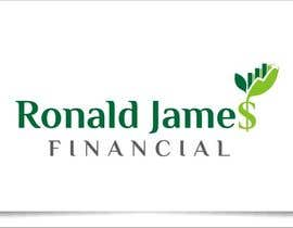 #130 for Design a Logo for Ronald James Financial by indraDhe