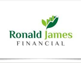 #132 for Design a Logo for Ronald James Financial by indraDhe