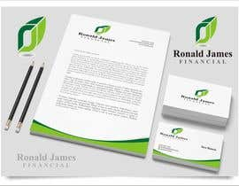 #134 for Design a Logo for Ronald James Financial by indraDhe