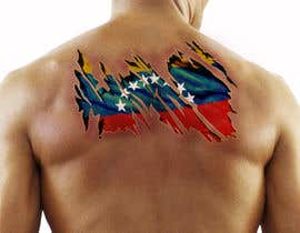 #13 for Torn flesh tattoo flag desing by fabioandrade