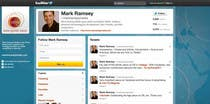 #39 for Twitter Background for Mark Ramsey Media by wademd