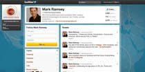 #33 for Twitter Background for Mark Ramsey Media by wademd