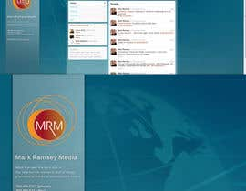 #38 para Twitter Background for Mark Ramsey Media por hellsan631