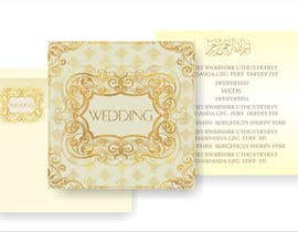 Nro 33 kilpailuun Design some Wedding and Mehndi Party Invitations for MUSLIM WEDDING käyttäjältä artist4