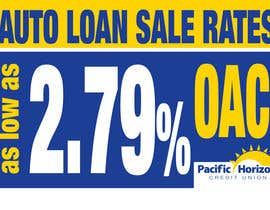 #15 untuk Graphic Design for Credit Union Auto Loan Sale oleh eenchevss