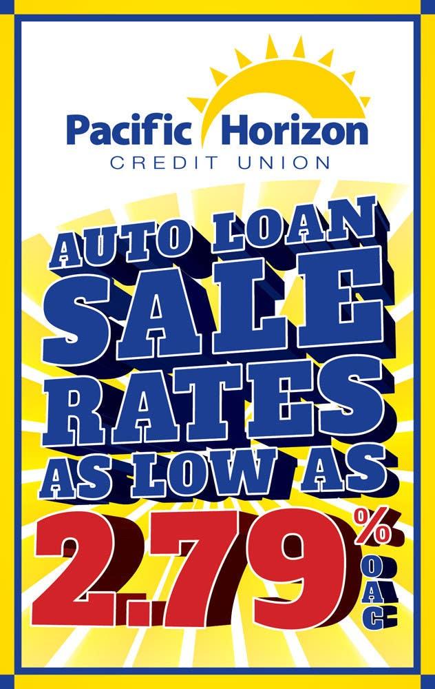 Graphic Design for Credit Union Auto Loan Sale için 16 numaralı Yarışma Girdisi