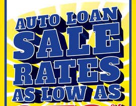#16 para Graphic Design for Credit Union Auto Loan Sale por designbykl