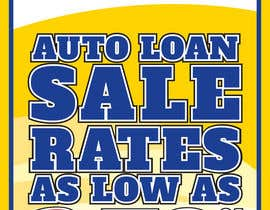 #1 para Graphic Design for Credit Union Auto Loan Sale por designbykl