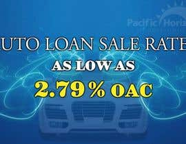 #8 para Graphic Design for Credit Union Auto Loan Sale por techwise