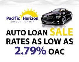 #6 para Graphic Design for Credit Union Auto Loan Sale por techwise